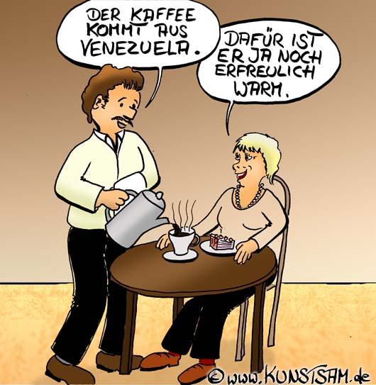 Herr Ober Cartoon